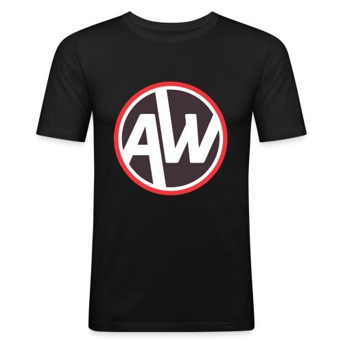 Logo Andy Wheeler - T-shirt près du corps Homme