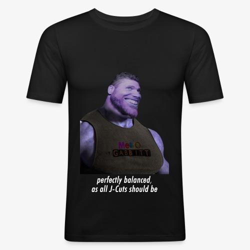 Grantos - Men's Slim Fit T-Shirt