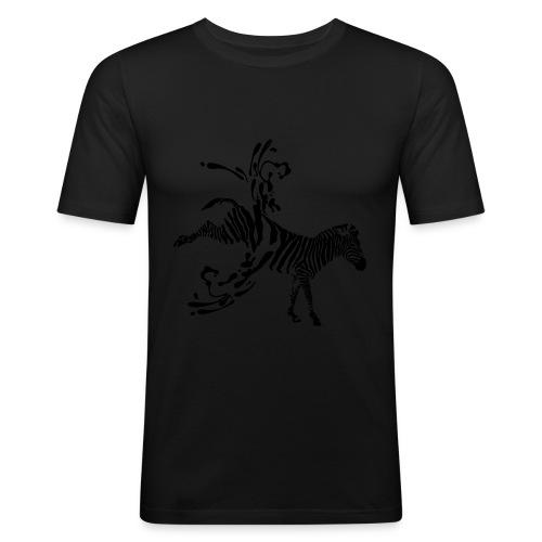 Abgestreift - Männer Slim Fit T-Shirt
