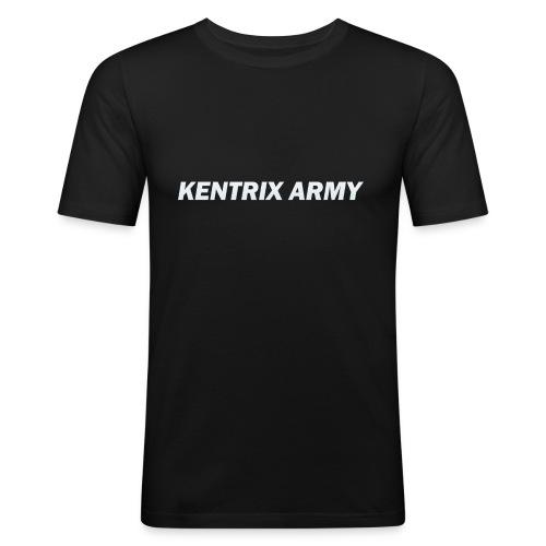#KentrixArmy Logo - Men's Slim Fit T-Shirt