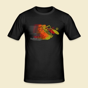 Radball | Earthquake Germany - Männer Slim Fit T-Shirt