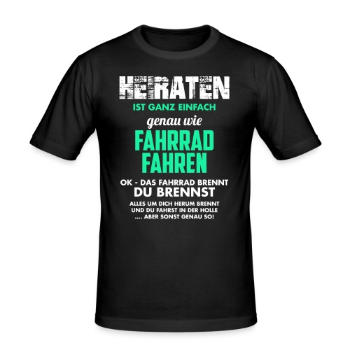 Heiraten - Männer Slim Fit T-Shirt