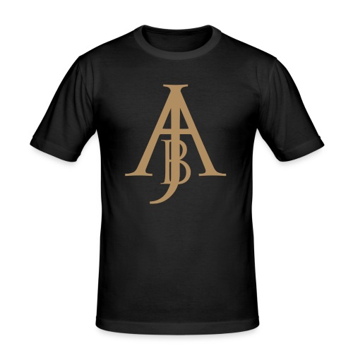 Monogram Guld - Slim Fit T-shirt herr