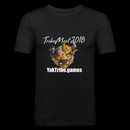 YakTribe Tribemeet 2018 Dark - Men's Slim Fit T-Shirt