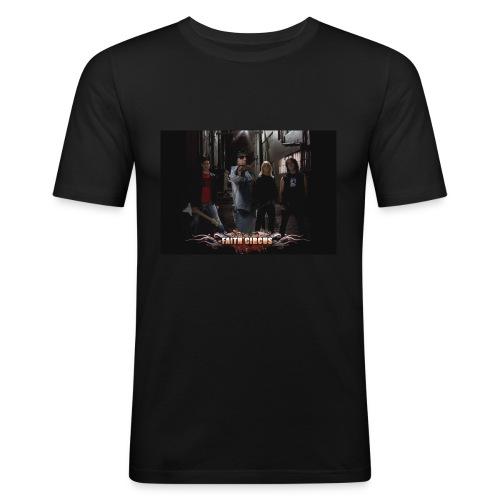 FAITH CIRCUS - Men's Slim Fit T-Shirt