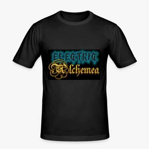 Electric Alchemea Logo IVC Zwopper - Slim Fit T-shirt herr