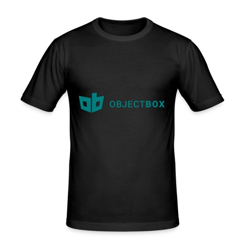 ObjectBox Green - Männer Slim Fit T-Shirt