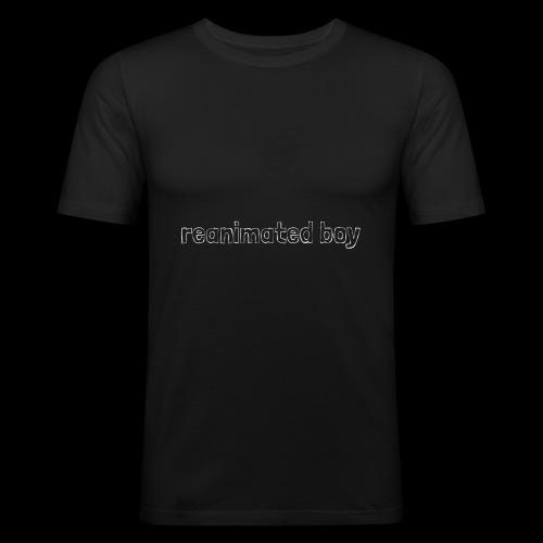 Reanimated boy logo - Men's Slim Fit T-Shirt