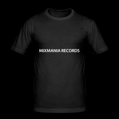 MIXMANIA RECORDS WHITE - Men's Slim Fit T-Shirt