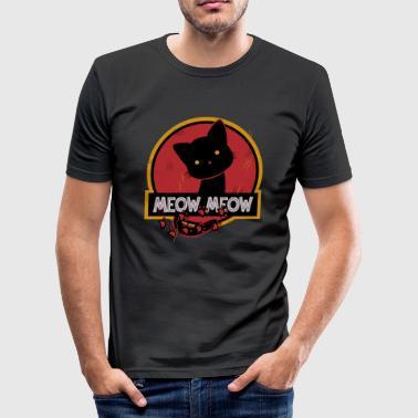 Jurasic CAT KITTY CAT - Slim Fit T-shirt herr
