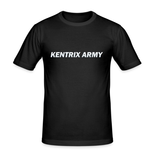 #KentrixArmy Logo - Men's Slim Fit T-Shirt