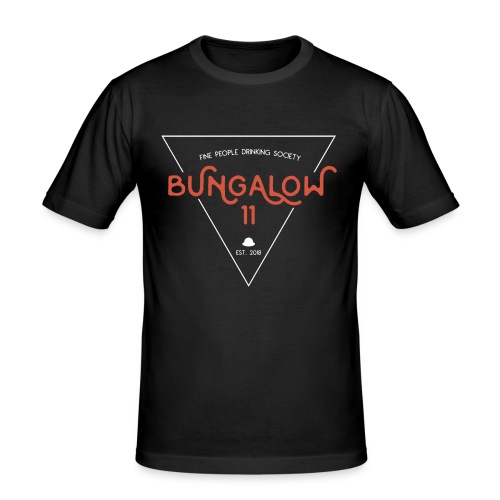 Bungalow 11 Drinking Society - Männer Slim Fit T-Shirt