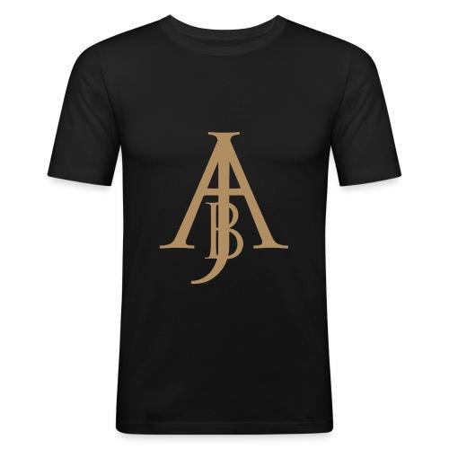 Monogram Guld - Slim Fit T-shirt herr