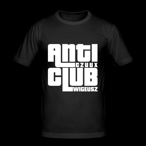 Anti Czuux Wigeusz Club - Obcisła koszulka męska