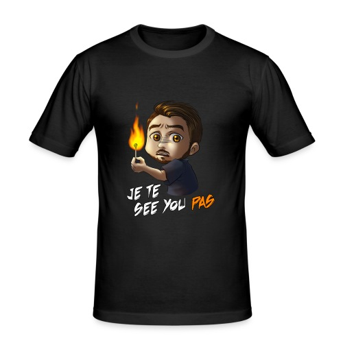 Toshicrow Collection Limitée - Je te see you pas - T-shirt près du corps Homme