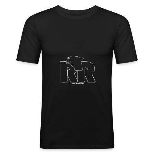 Inverted Outline - Männer Slim Fit T-Shirt