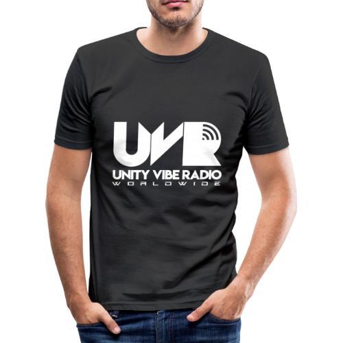 UVR - Feel the Vibe - Men's Slim Fit T-Shirt