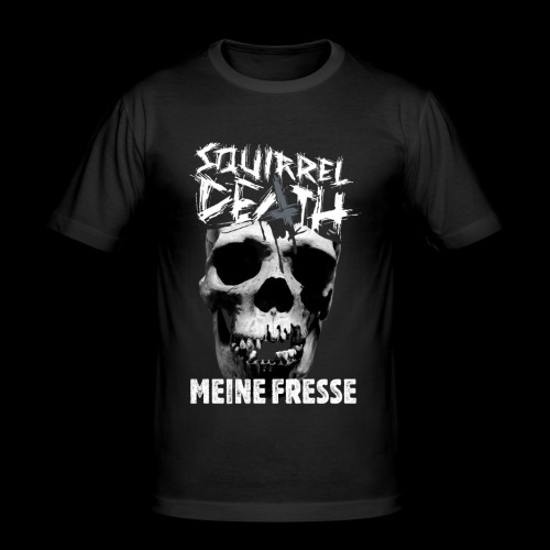 SQUIRREL DEATH - 'MEINE FRESSE' - Männer Slim Fit T-Shirt