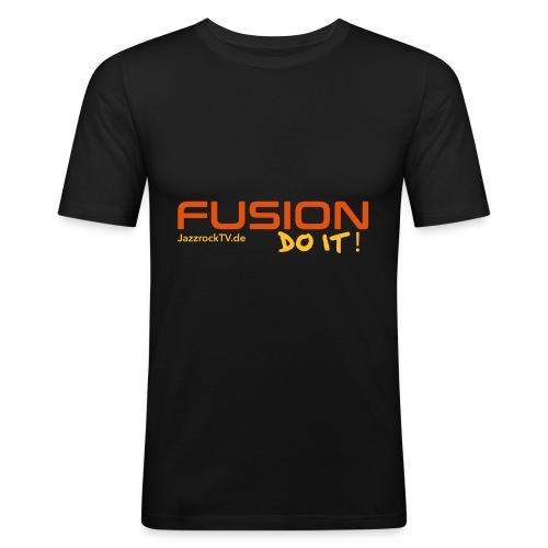 Fusion - Do It - Männer Slim Fit T-Shirt