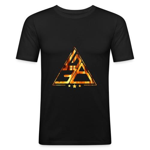 Triangle de feu - T-shirt près du corps Homme