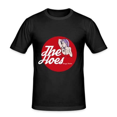 The Hoes Teenage Dreams Red - Männer Slim Fit T-Shirt