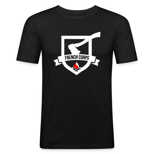 FrenchCorps - T-shirt près du corps Homme