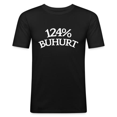 124 - Miesten tyköistuva t-paita