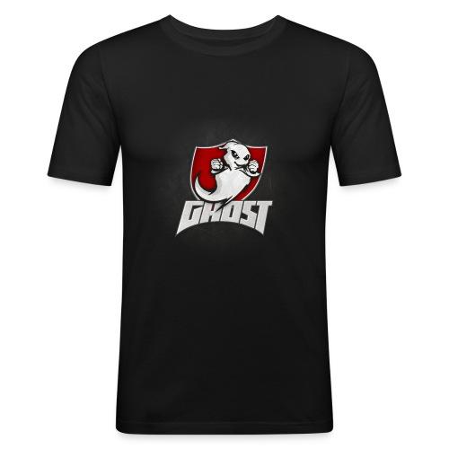 Team Ghost (ohne Strahlen) - Männer Slim Fit T-Shirt