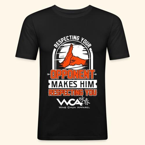 Respecting your opponent - Men's Slim Fit T-Shirt