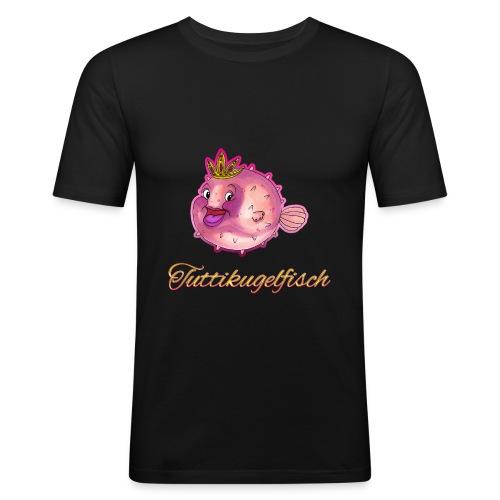 Tuttikugelfisch - Männer Slim Fit T-Shirt
