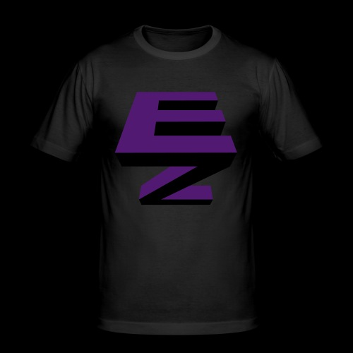 Electric Zoo logo - Men's Slim Fit T-Shirt