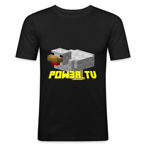 POW3R-GAIZ - Maglietta aderente da uomo