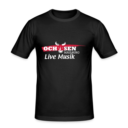 Shirt Ochsen Maulburg - Männer Slim Fit T-Shirt