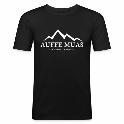 Auffe muas - Männer Slim Fit T-Shirt