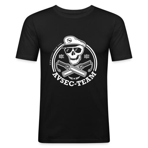 AVSEC Team - Männer Slim Fit T-Shirt