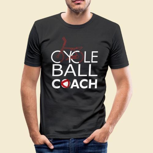 Radball   Cycle Ball Coach - Männer Slim Fit T-Shirt