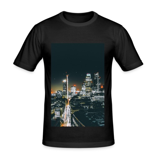 London night light - Men's Slim Fit T-Shirt