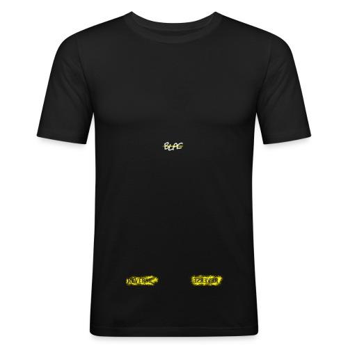 Vblack Tee Reverse - Obcisła koszulka męska