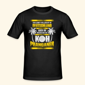 Koh Phanganer Shirt - Männer Slim Fit T-Shirt