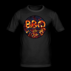 BBQ - Männer Slim Fit T-Shirt