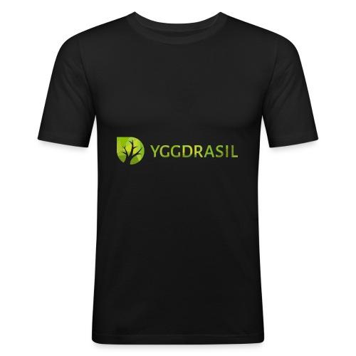 Yggdrasil Geocoder - Männer Slim Fit T-Shirt