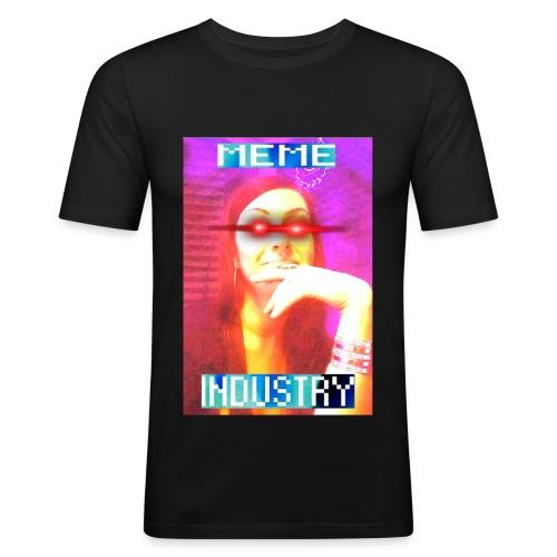MEMEINDUSTRY - Männer Slim Fit T-Shirt