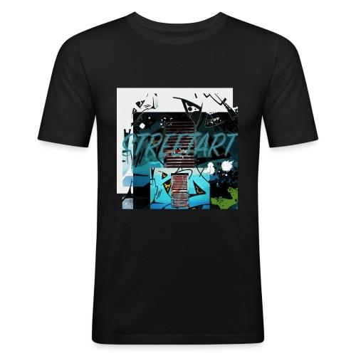 Street art II - Männer Slim Fit T-Shirt