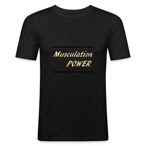 Musculation POWER HOMME - T-shirt près du corps Homme