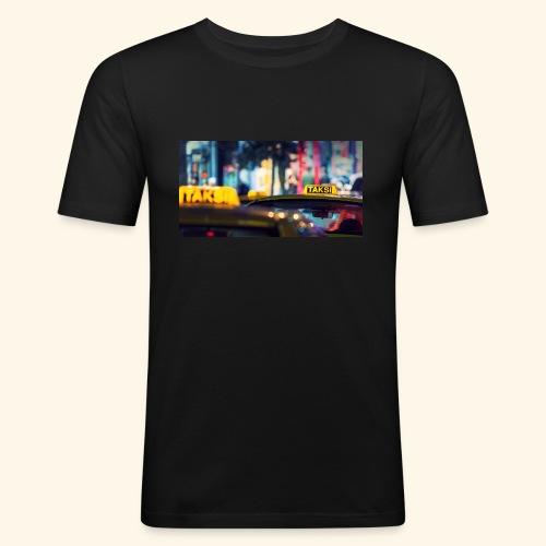 Taksi - Männer Slim Fit T-Shirt