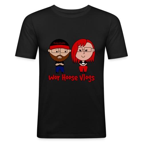 Radgie & Zannie - Men's Slim Fit T-Shirt