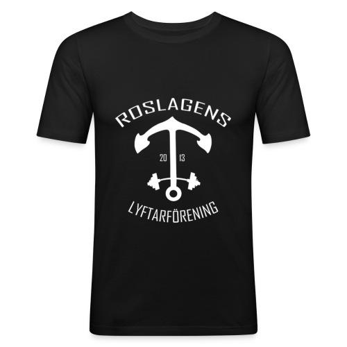 RLF LOGGA - Slim Fit T-shirt herr