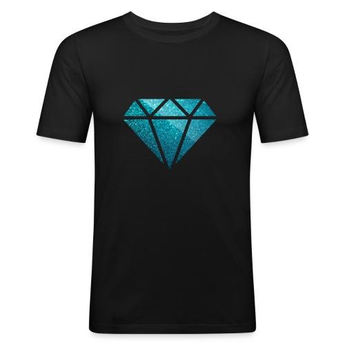 DIAMØND - Men's Slim Fit T-Shirt