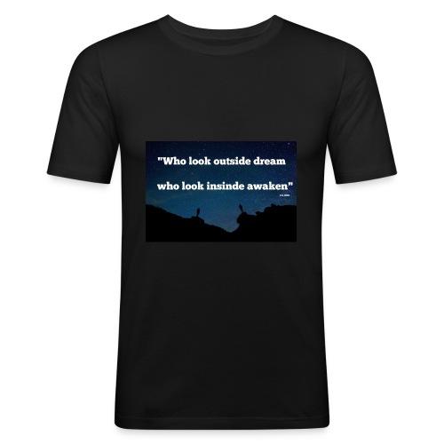 Look inside - T-shirt près du corps Homme
