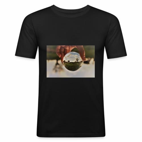 campagne salentine - Maglietta aderente da uomo